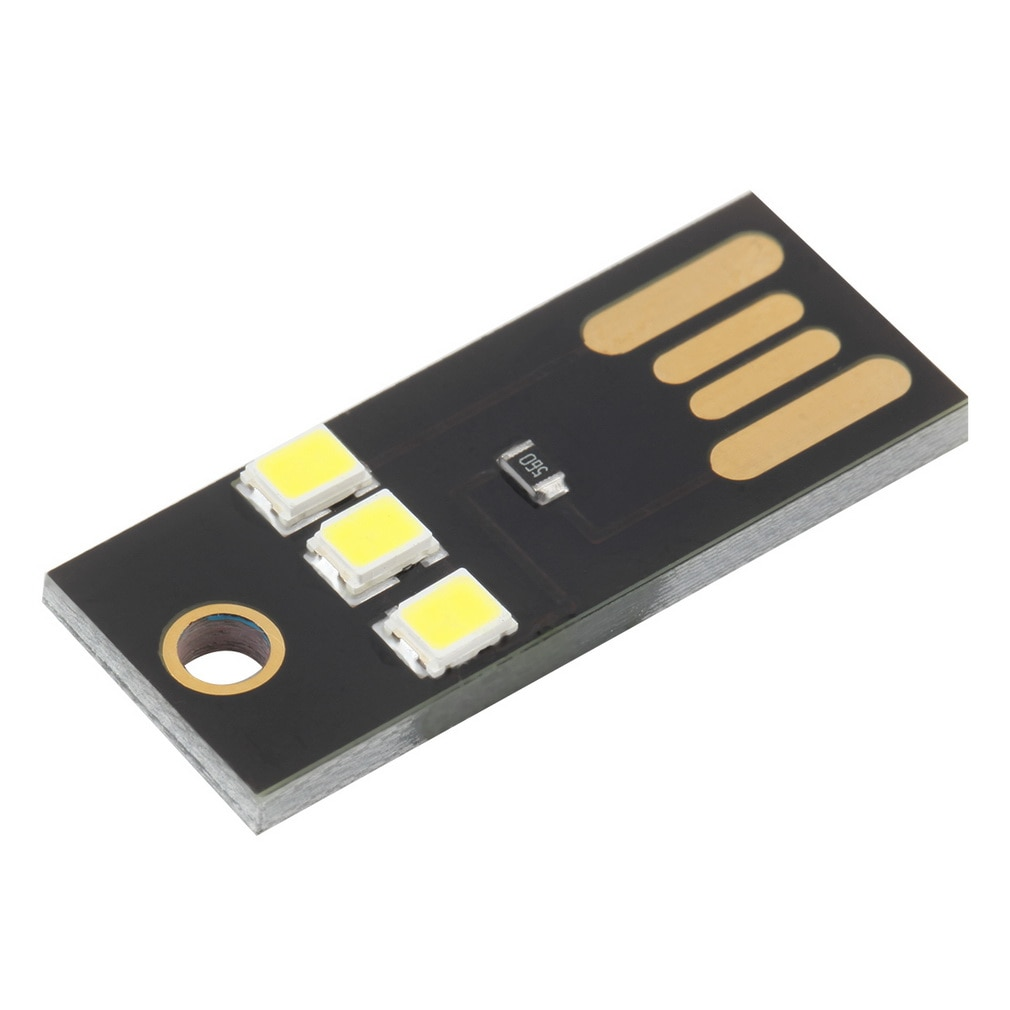 LED USB Notebook Reading Light Computer Lamp Power Bank Book Night Light Novelty Bulb Finger Touch Adjust Brightness