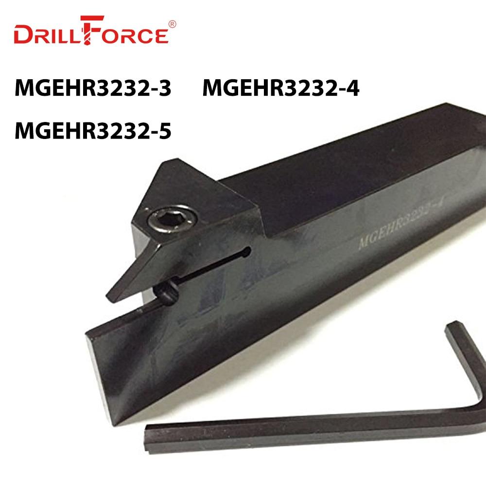 MGEHR3232-3 MGEHR3232-4 MGEHR3232-5 32*32 مللي متر سويقات CNC تحول أداة قضيب ، مخرطة أداة