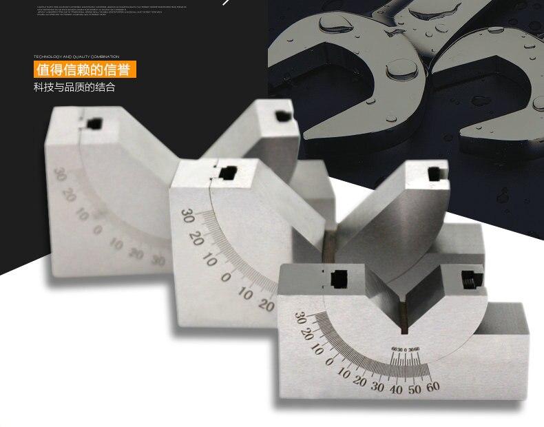 AP46 Adjustable angle gauge Adjustable angle pad gauge Right angle pad grinder Milling machine angle