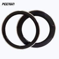 38/50/60/80mm carbon alloy 700c rims clincher wheels 23mm width cheap sale Super stiff fee wheel aluminum brakes surface