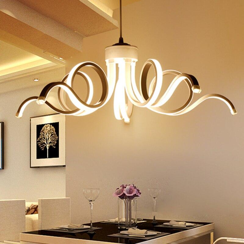 Lámpara De araña Led De Cristal Para Sala De estar, Candelabro colgante De ámbar moderno, Luminaria