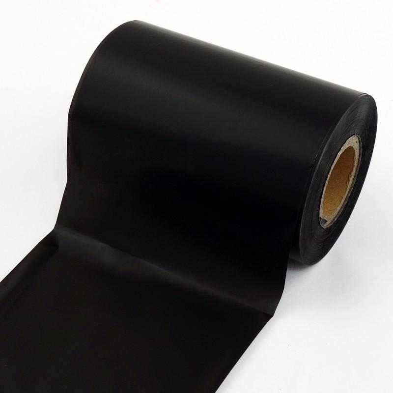 Термопереводная лента, 90 мм x 300 м с полимерным покрытием для ПЭТ/ПВХ/виниловых этикеток Zebra TSC Eltron, принтер этикеток 1