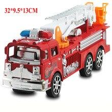 32*9.5*13CM Toys Car  Inertial Fire Fighting Truck Car Boys Toys for Children