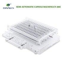 (204 trous) #2, CapsulCN204S remplisseur de capsule semi-automatique de haute précision/Machine de remplissage de Capsule/Machine de connexion de Capsule