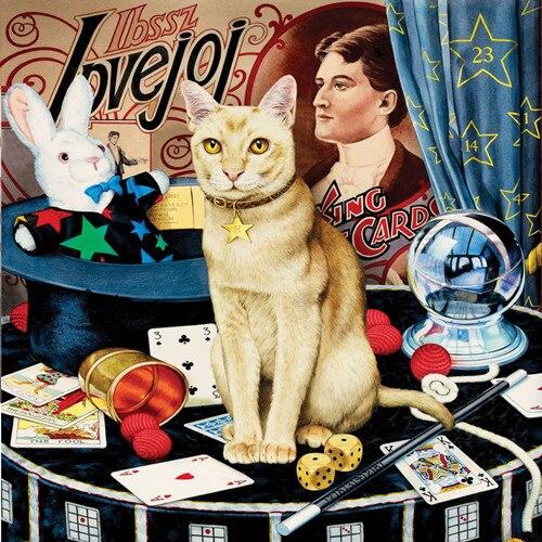 Mosaico nuevo completa en pintura diamante bordado rey Tarjeta de póquer fortuna kitty cuentas de gatos Cruz pintura de aceite kits para manualidades