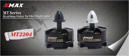 Emax MT2204 2300KV de Motor sin escobillas para RC Multirotor QAV250 FPV Quadcopter (4 Uds 2xCCW 2xCW)
