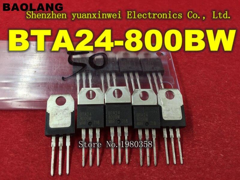 Envío gratis 10 Uds BTA24-800BW BTA24 TO220 mejor calidad J