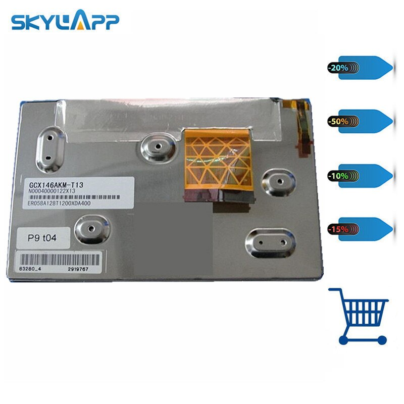 Skylarpu LCD screen display panel for GCX146AKM-E GCX146AKM EQ058A113050008QA400 N00040014231825 (without touch) Free shiping
