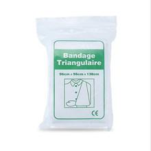 2 sac pansement médical pour brûlure trousse de premiers soins triangulaire Bandage enveloppement Fixation pour Fracture Bandage durgence soin des plaies