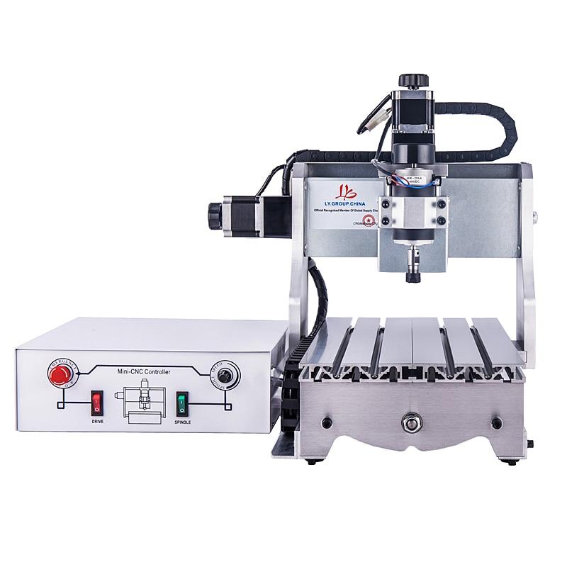 Motor de husillo de potencia de 300 W CC, grabador cnc 3020 t-d300, máquina de orfebrería para carpintería