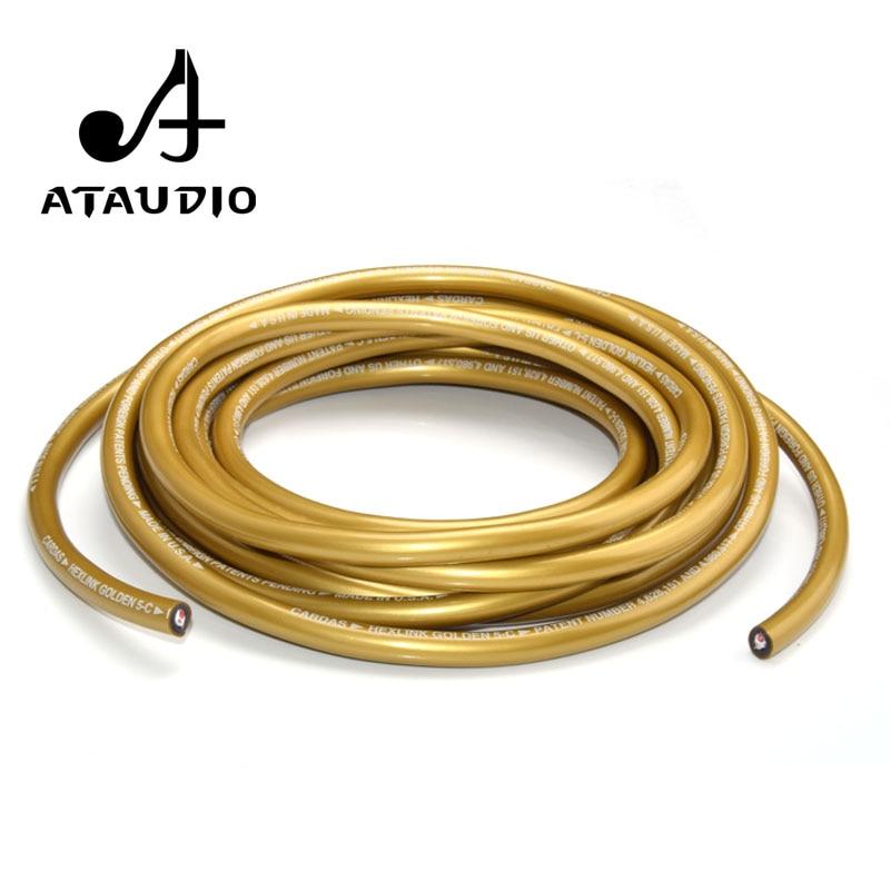 Ataudio cardas 5c cobre alta fidelidade xlr interconectar cabo de áudio em massa rca para diy