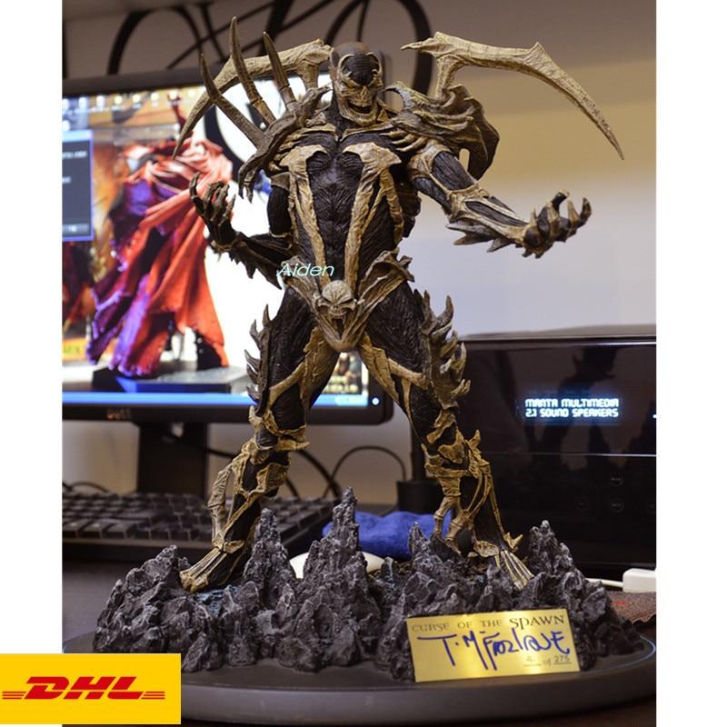 "Figura de acción de 12 ""The Avengers estatua de superhéroe busto Spawn retrato de longitud completa Jim Downing GK juguete de modelos coleccionables 30CM B760"