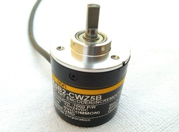Codificador rotatorio incremental E6B2-CWZ5B 1000 P/R, salida PNP, codificador de impresora 3D, codificador de máquina de moldeo por inyección