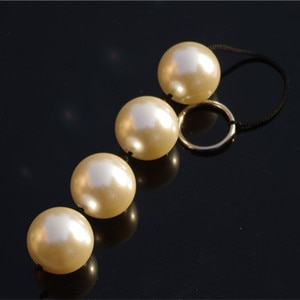 Unisex 4cm Big Pearl Anal Beads Male Prostate Massager Gay Sex Toys Adult Products Sex Shop