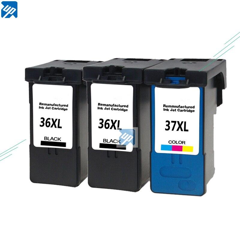 3 cartuchos de tinta para Lexmark 36 y 37 -X3650 X4650 X5650 X6650 X6675 Z2420