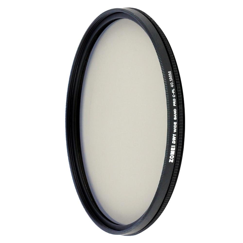 Zomei Ultra mince CPl Go Pro filtre dappareil photo pour Sony Nikon Canon Pentax objectif des appareils photo numériques 40.5/49/52/55/58/62/67/72/77/82MM