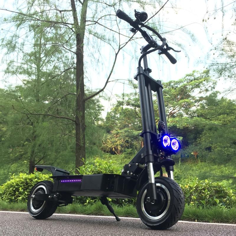 FLJ-patinete eléctrico con asiento para adulto, scooter de carga rápida, neumático ancho...