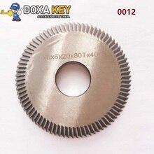0012 HSS fraise 888A 888C accessoires angle cutter 20mm trou double côté clé cutter 70x6x20