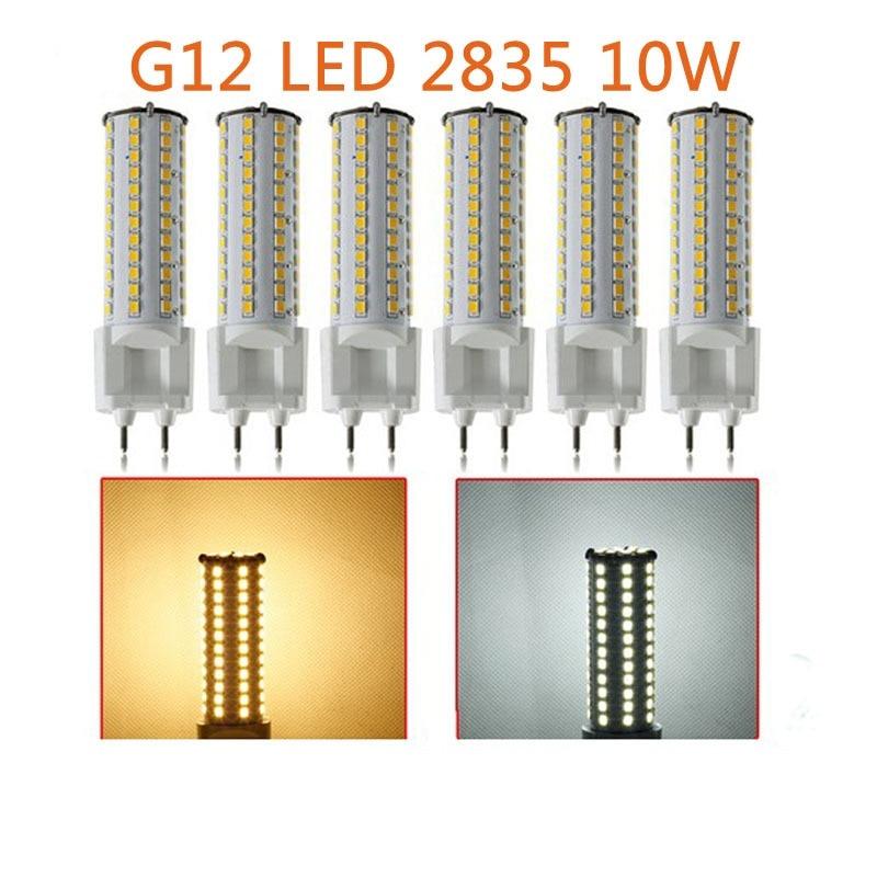 40pcs/lot Dimmable G12 led corn bulb 1050LM 10W G12 led PL bulb replace 35W G12 Metal halide bulb AC85-265V