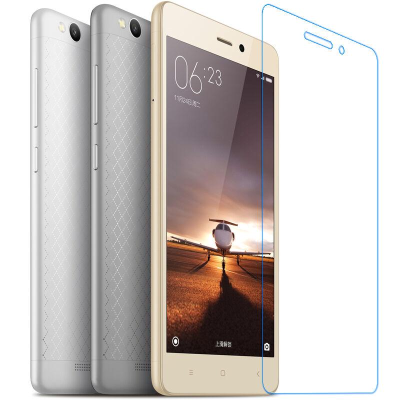 9H templado Premium de vidrio para Xiaomi Redmi 3 S Protector de pantalla película protectora para Xaomi Xiomi Redmi 3s 3 Pro S Hongmi 3X de vidrio