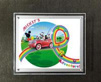 Single Side Wall Mounted Acrylic Frame New Technology High Brightness 2015 Ultra Thin A4 Size Led Light Box