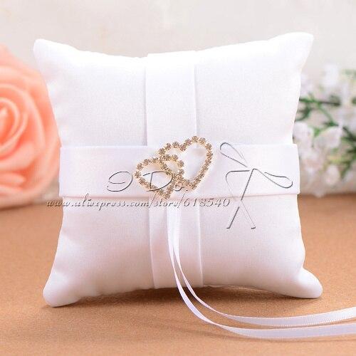Anillo de Boda blanco de 10x10cm, almohada, Detalles de Boda, insumos para...