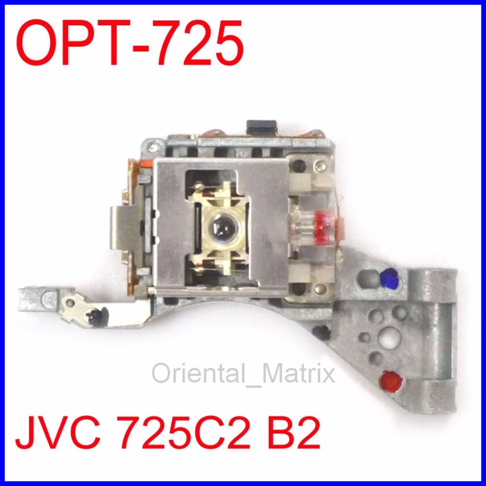 Envío Gratis OPT-725 OPTIMA-725 óptico Pick Up OPTMA725 lente láser para JVC 725C2 725B2 reproductor de CD de coche óptico Pick-Up