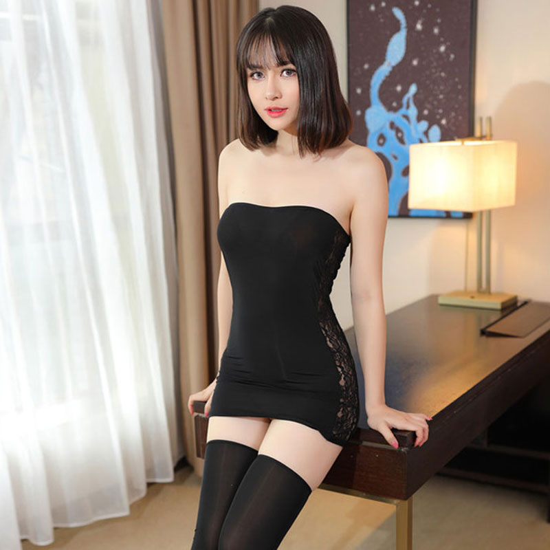 Женское кружевное платье-карандаш, прозрачное облегающее мини-платье 10