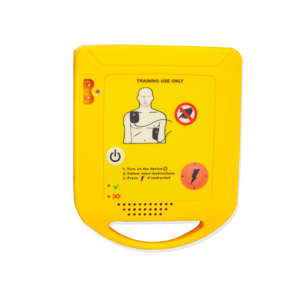 CE Approved Mini AED Simulation/Trainer For First Aid CPR Training Emergency Survival Automated External Machine Device