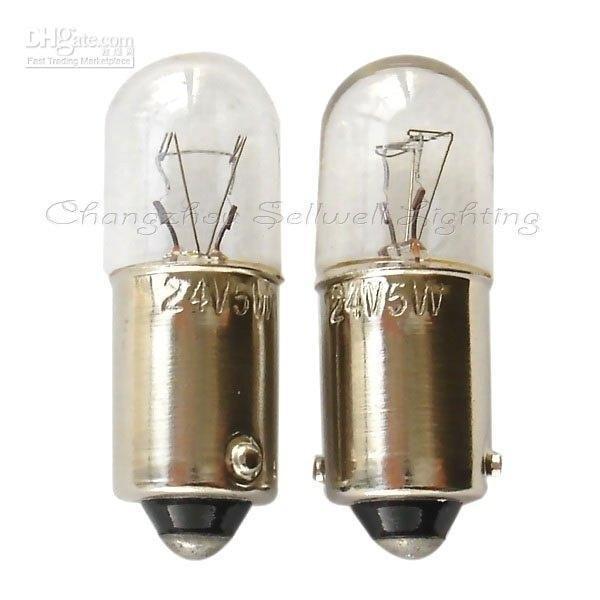 Iluminación de lámparas A210 24v 5w ba9s t10x28 2020 en miniatura