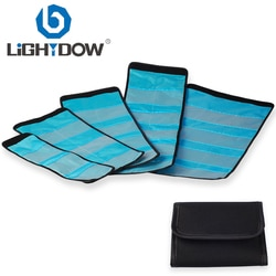Чехол-бумажник Lightdow для фильтра объектива 6/10/12 с карманами для 49 мм 52 мм 55 мм 58 мм 62 мм 67 мм 72 мм 77 мм UV CPL FLD ND