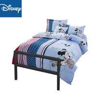 Disney Mickey Maus königin größe bettwäsche set für kinder bett decor twin größe bettbezüge Reine baumwolle tröster bettwäsche-sets rabatt
