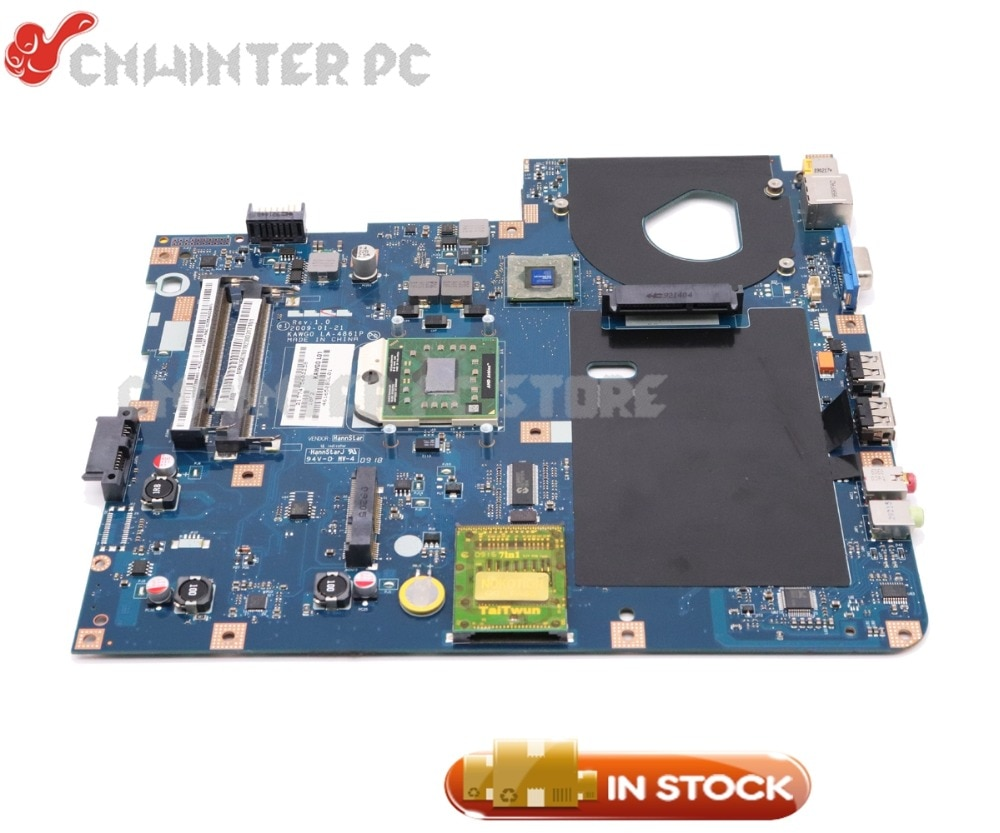 NOKOTION MBN3602001 MB N3602.001 para Acer E625 5516, 5517 de 5532 placa base de computadora portátil KAWG0 LA-4861P hembra s1 gratis CPU