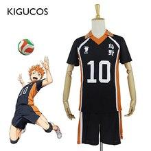 KIGUCOS 9 видов стилей горячая аниме Karasuno старшеклассная спортивная одежда Haikyuu! Хината Shyouy маскарадные костюмы, костюм, трикотажная форма