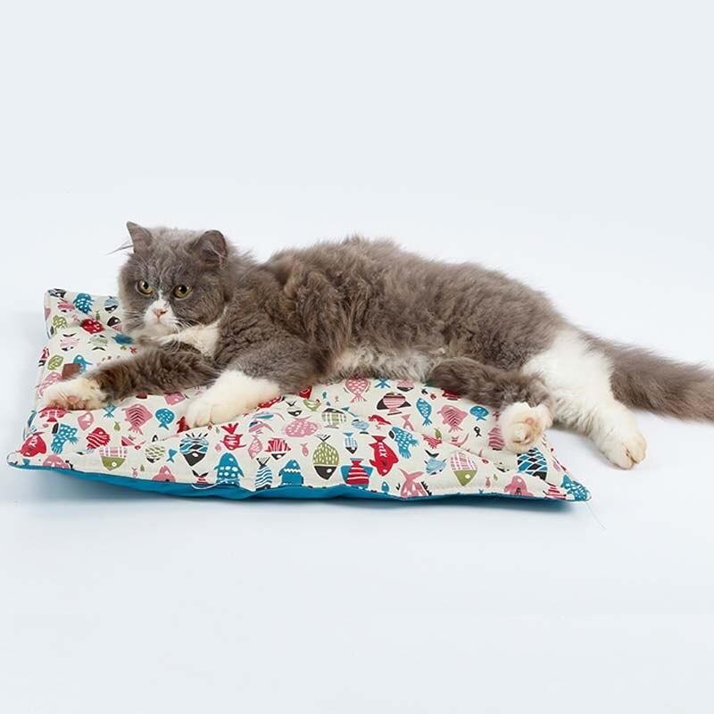 Mascota suave y cálida perro gatos Cama casa estera sueño capa impermeable productos Para mascotas Para gatos Petshop Cama Para Gato House Coussin Chat