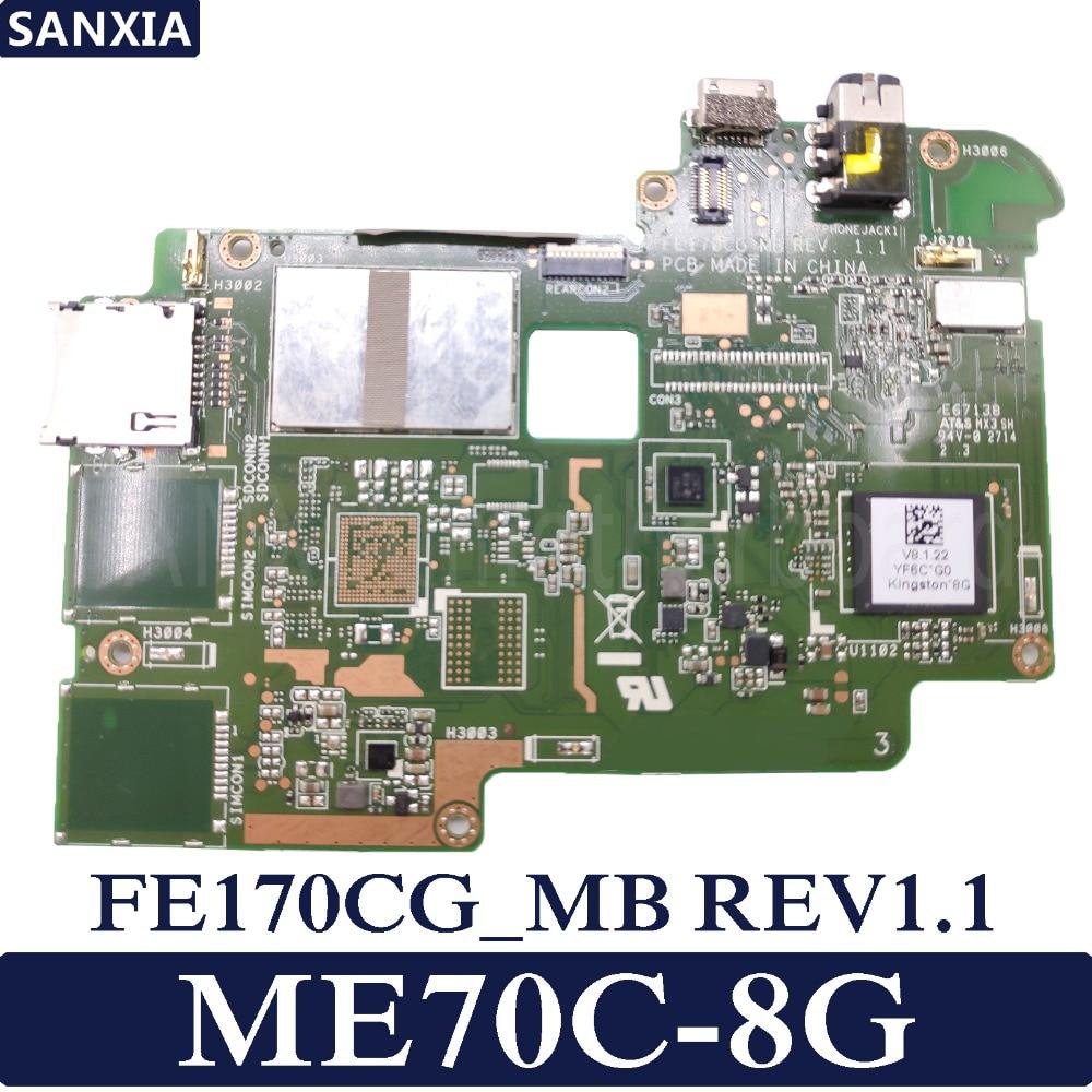 KEFU-placa base de tableta FE170CG para ASUS ME70C, placa base original de...