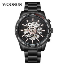 2020 Men's Watches Mechanical Watch Mens Skeleton Watches Top Brand Luxury Automatic Watch Stainless