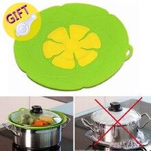 Siliconen Deksel Spill Stopper Cover Voor Pot Pan Keuken Accessoires Koken Gereedschap Bloem Kookgerei Huis Keuken Accessoires Gadgets