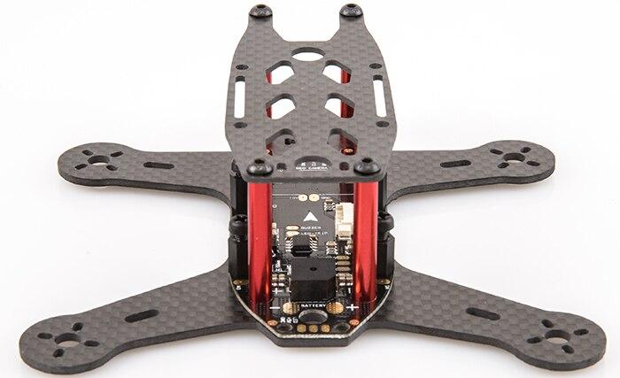 BeeRotor 130 de 130mm 4-eje de fibra de carbono completa de Mini bastidor Quadcopter con AP Junta