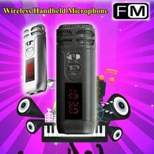 Micro sans fil FM portatif Mini Reverb pour Guide touristique haut-parleur mégaphone conférence denseignement conférence karaoké Micro