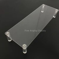 1pcs display riser stand acrylic plexiglass lucite toy jewelry gifts showcase sunglasses display holder