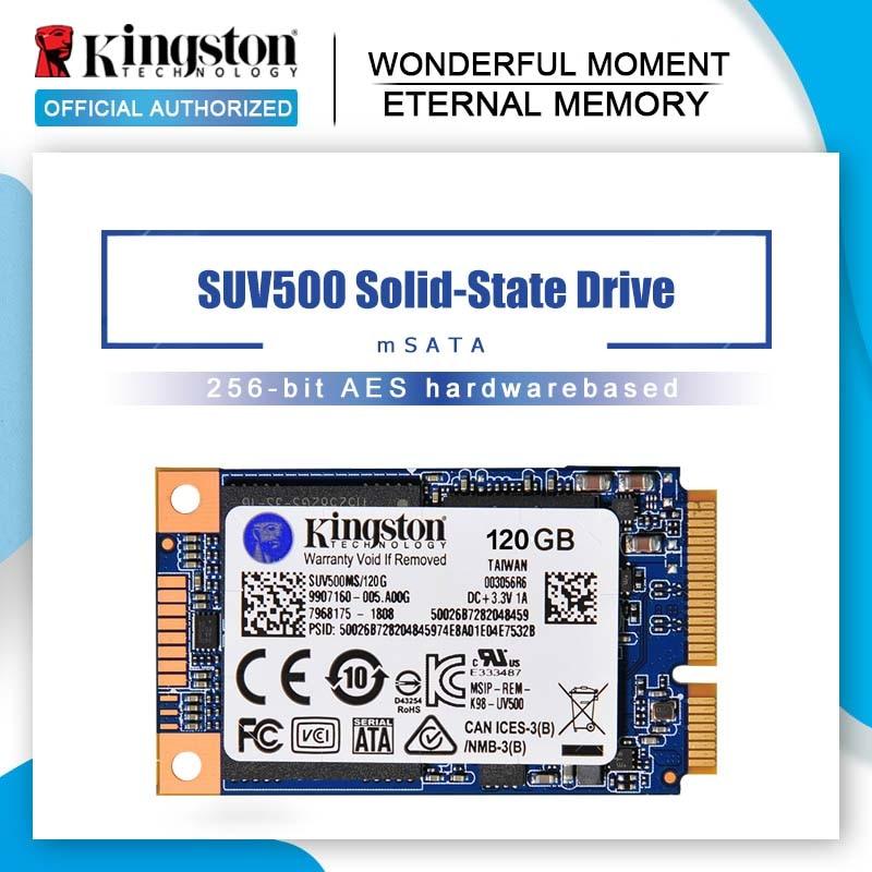 Kingston UV500 120gb SSD 240gb mSATA 480 GB interno de estado sólido disco duro HD ssd 240gb Notebook PC