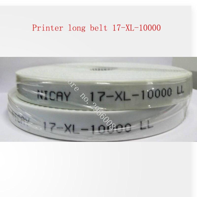 Free shipping ! Inkjet printer long belt  for Infinity Wit-color Gongzheng flat belt 17-XL-10000 for large format printer high quality leadshine dc servo motor 57hs22 a corresponding drive dm442 for large format inkjet printer