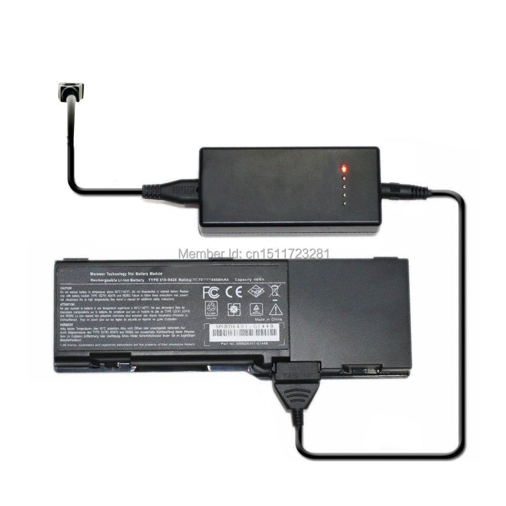 Cargador externo de la batería del ordenador portátil para Dell Vostro 1310, 1320, 1510, 1520, 2510