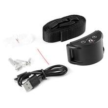 PaiPaitek PD258-S Pet Dog Training Collar Anti-barking Collar Electric Shock Adjustable Nylon Strip USB Charging Dog Trainer Hot