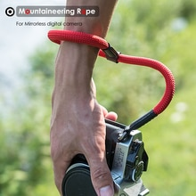 Appareil photo reflex alpinisme corde Nylon appareil photo dragonne ceinture pour appareil photo numérique sans miroir Leica Canon Nikon Olympus Pentax Sony