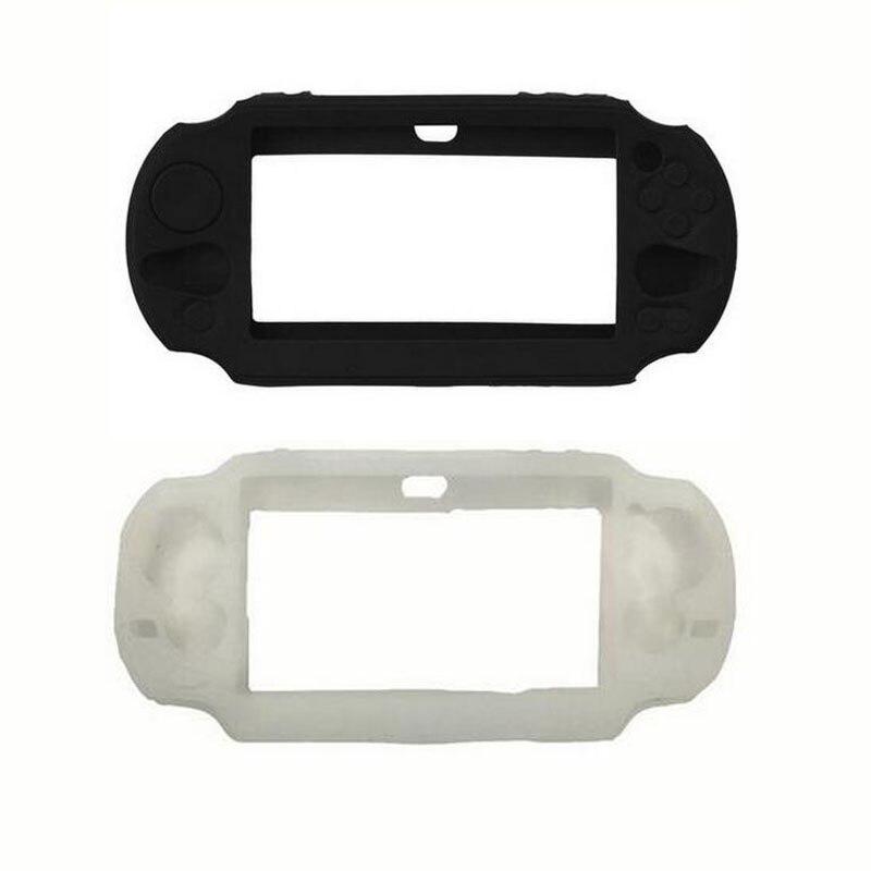 TPU gel de silicona cubierta protectora blanda carcasa para Sony PlayStation Psvita PS Vita PSV 1000 2000 Slim consola funda de piel protectora