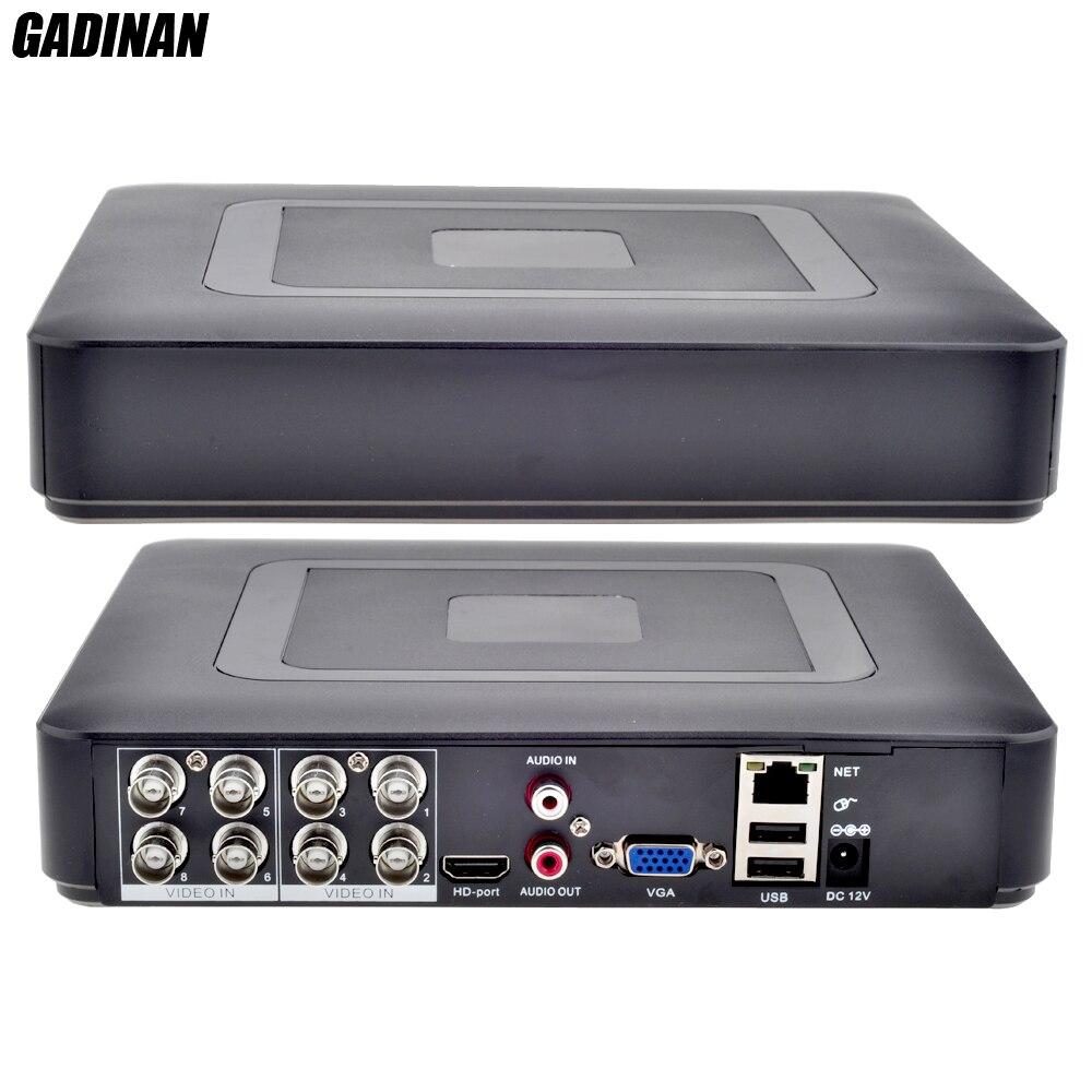 GADINAN-مسجل فيديو رقمي تناظري DVR 5 في 1 ، AHDNH 1080N ، DVR تناظري IP AHD TVI CVI 5 في 1 DVR 4CH ، تناظري 1080P ، يدعم 8 قنوات AHD 1080N/4CH 1080P