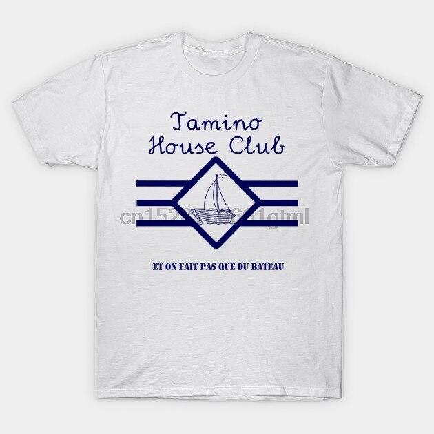 Los hombres de manga corta Camiseta En fait pas que du bateau Tamien T camisa mujeres camiseta