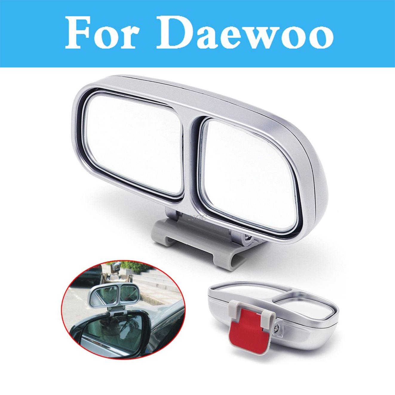 Adjustable Wide Angle Square Convex Blind Spot Mirror Car For Daewoo Winstorm Nubira Sens Tosca Matiz Nexia